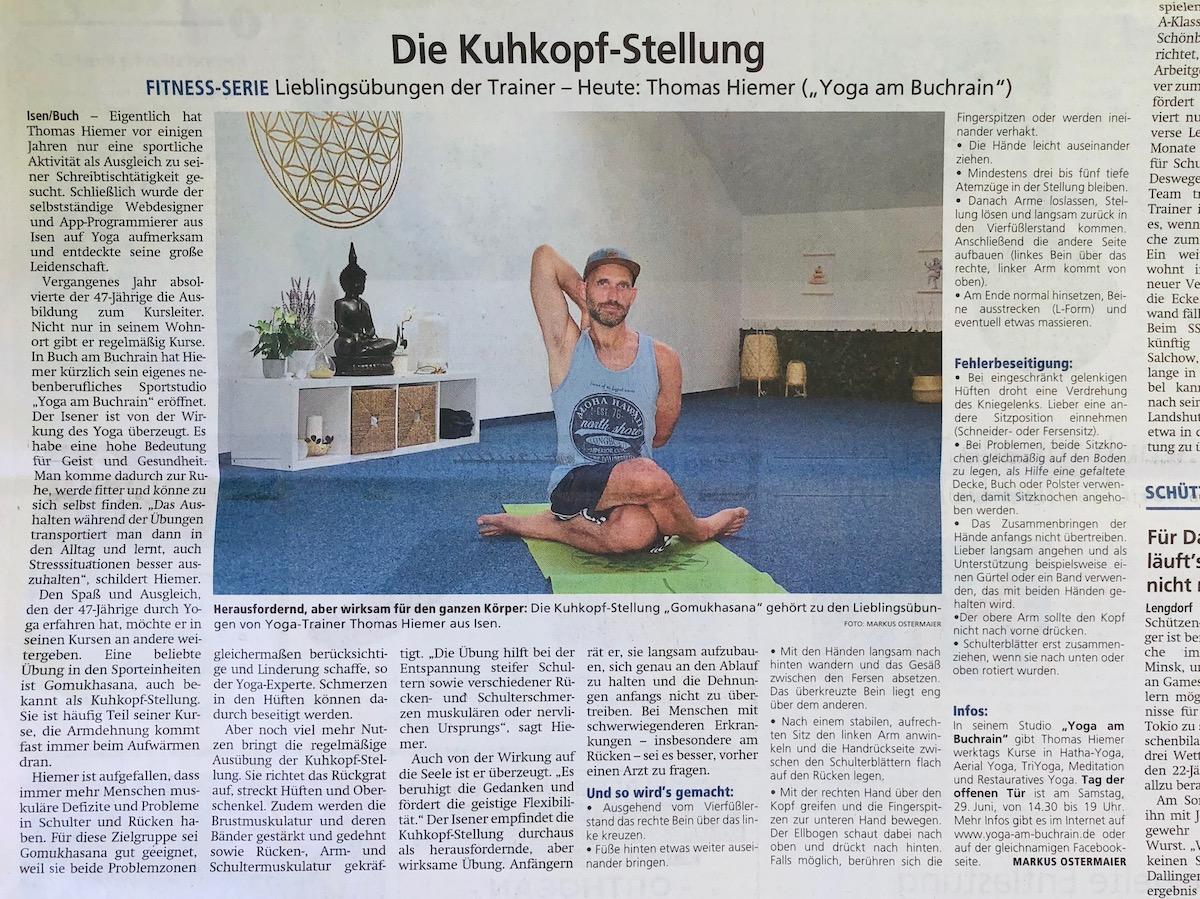 Artikel im Münchner Merkur am 26.06.2019